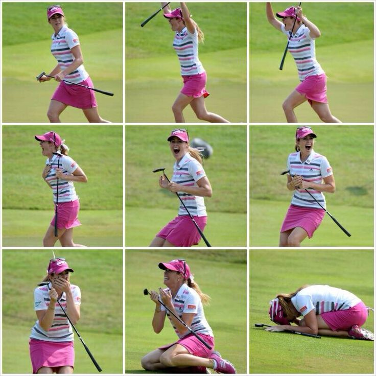 Paula Creamer's final putt @Zaiga Gosts Championship