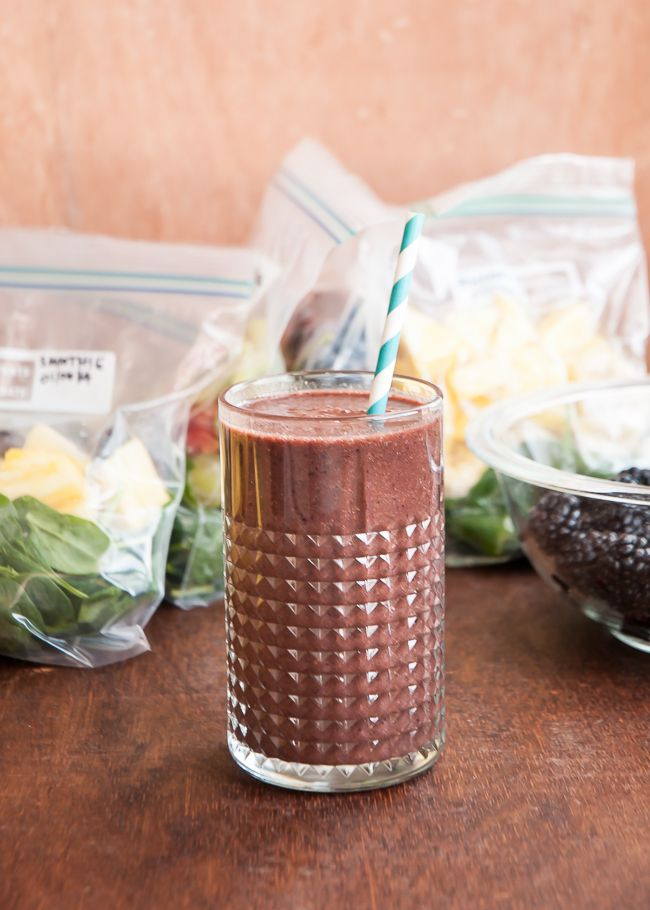 Make a Month of Green Smoothies in an Hour - Henry Happened
