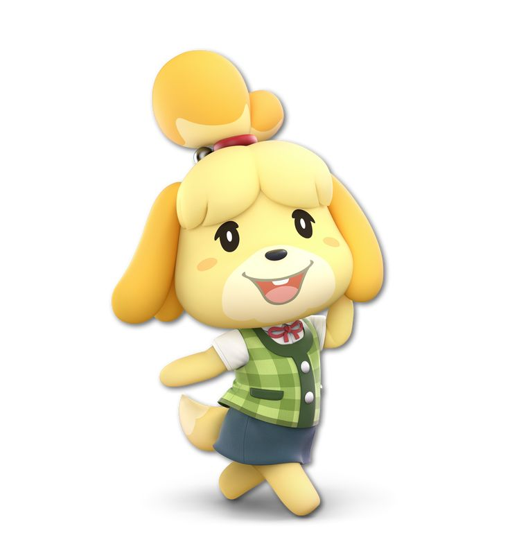 Isabelle in Super Smash Bros. Ultimate