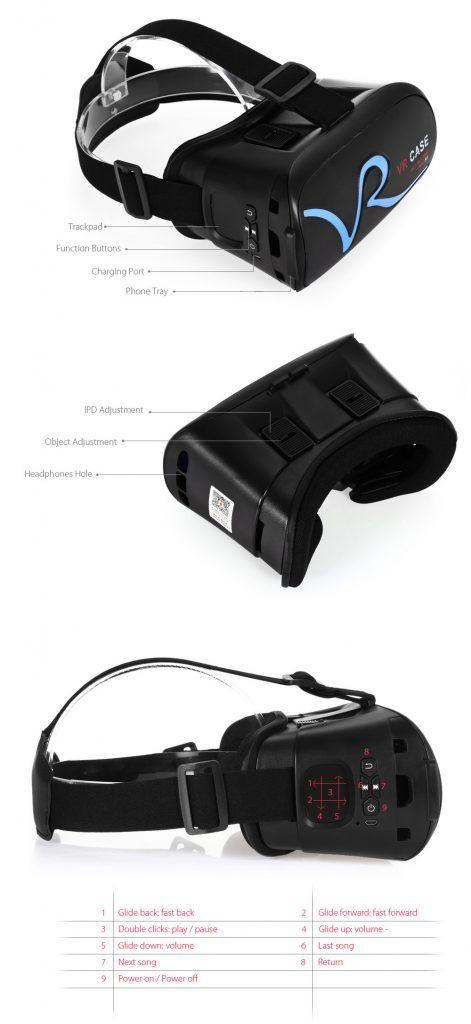 Bij deze een VR 3D bril. Niet nieuw, maar deze is voorzien van een Bluetooth verbinding met de Smartphone, zodat je de telefoon gewoon kunt bedienen terwijl die in de VR Bril zit! Met knoppen en Muis touchpad! Nu maar €17,50  http://gadgetsfromchina.nl/3d-vr-headset-met-ingebouwde-bt-trackpad/  #gadgets #Gadget #aanbieding #Sale #VR #3D #bril #glasses #smartphone #bluetooth #BT #Smart #mouse #touchpad #mousepad #muis #Gearbest #China #GadgetsFromChina
