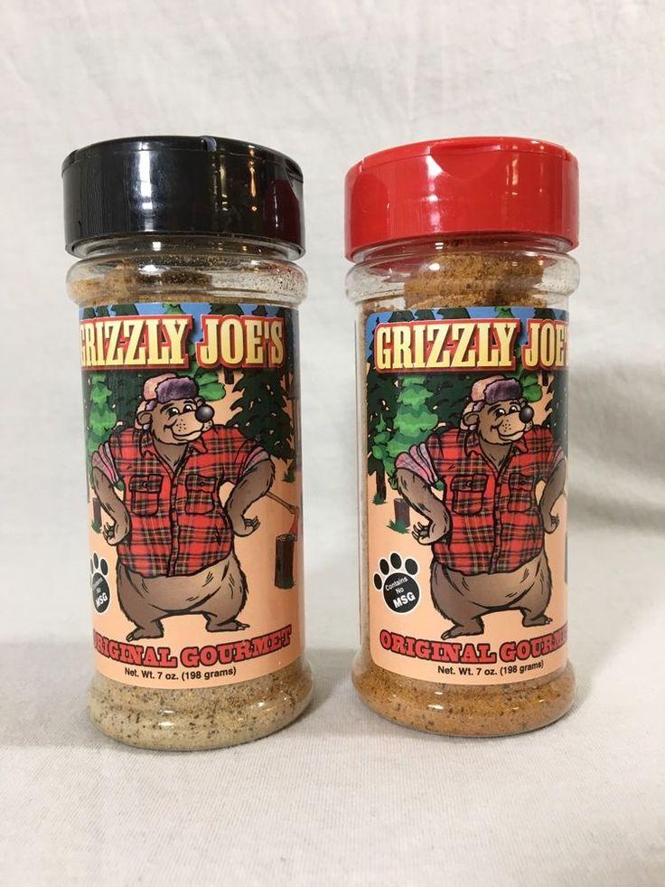 Grizzly Joe's Original Gourmet Seasoning 2 Pack  | eBay