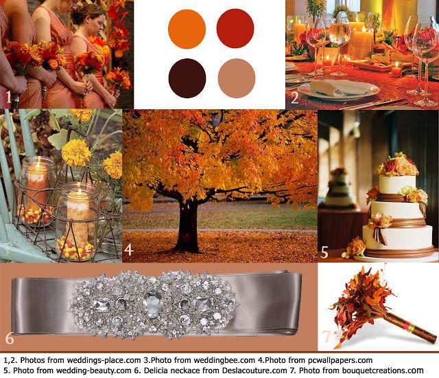 Desla september 2011 wedding ideas pinterest for Wedding themes for september