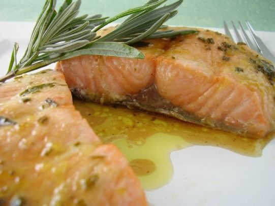Grilled Or Baked Salmon With Lavender Recipe