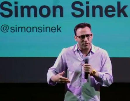EksIns: Start With Why. Lær mere. Dyk ned i Simon Sineks bibliotek.