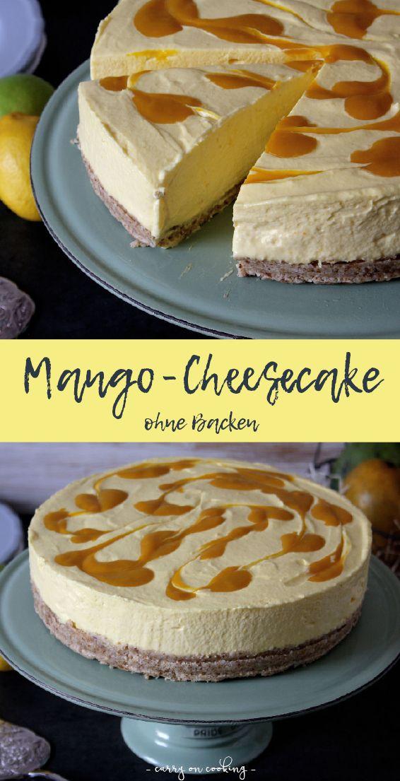 Käsekuchen ist an Beliebtheit kaum zu übertreffen: Ob klassisch mit Quark, im Wasserbad gebacken wie in Amerika oder mit Früchten aufgepeppt, ist er in jeglicher Form heißbegehrt. Mein Mango-Cheesecake ohne Backen bevorzugt die Kälte des Kühlschrank und wird Euch mit seinem aromatischen Mango-Swirl verzaubern.