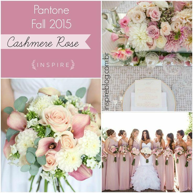 Cashmere rose: lindo tom de rosa para casamentos românticos! http://brides.inspireblog.com.br/cores-do-ano-pantone-fall-2015-cashmere-rose/ pantone fall 2015 cashmere rose inspire