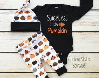 Baby Boys First Halloween Outfit, Black Infant Bodysuit, Leggings And Hat With Pumpkins, Baby Boy Halloween Outfit Set #babyboyleggings #babyboyoutfits #leggingsoutfit