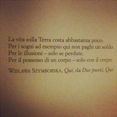 Addio Wislawa Szymborska
