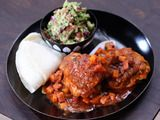 Chipotle Chicken Thighs with Chunky Guacamole Recipe : Rachael Ray : Recipes : Food Network