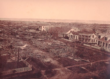 Galveston's 1900 Storm took the city, which had the second highest income per capita in the U.S. at the time, from riches to ruin in a single night
