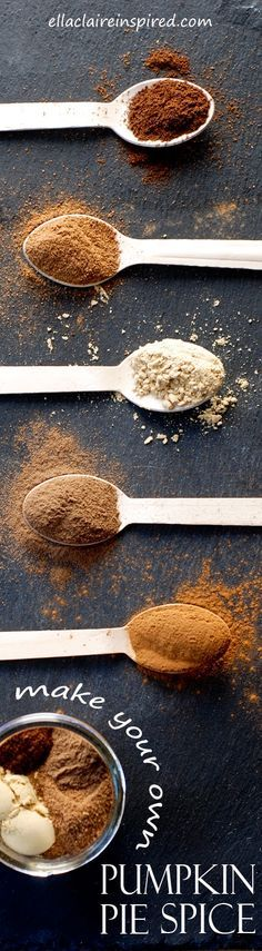 Homemade Pumpkin Pie Spice~ Never buy the expensive premade again! And this tastes SO much better!