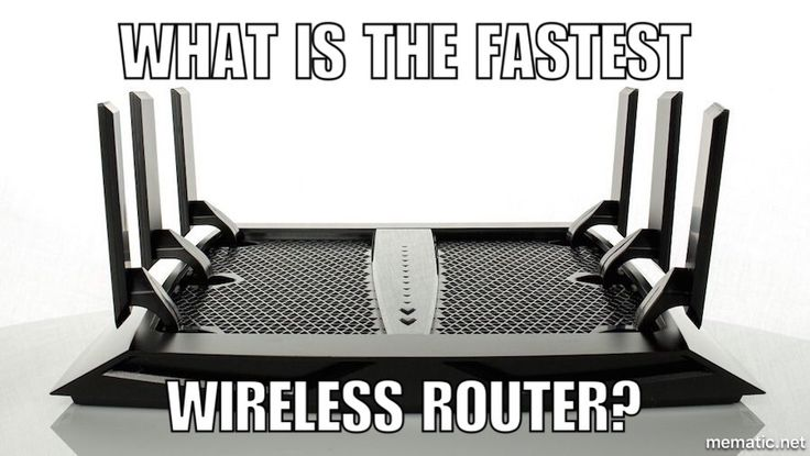What is 2017's top wireless router with the fastest speeds?
