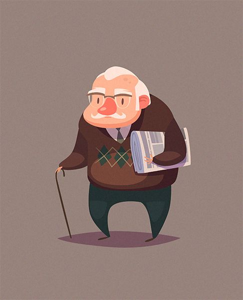 These characters have been created as an images for the stock selling, but I…