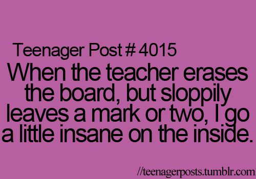 Yep, I always go up to the board and erase the rest