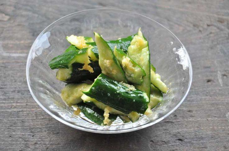 Tataki Cucumber Pickles たたききゅうり