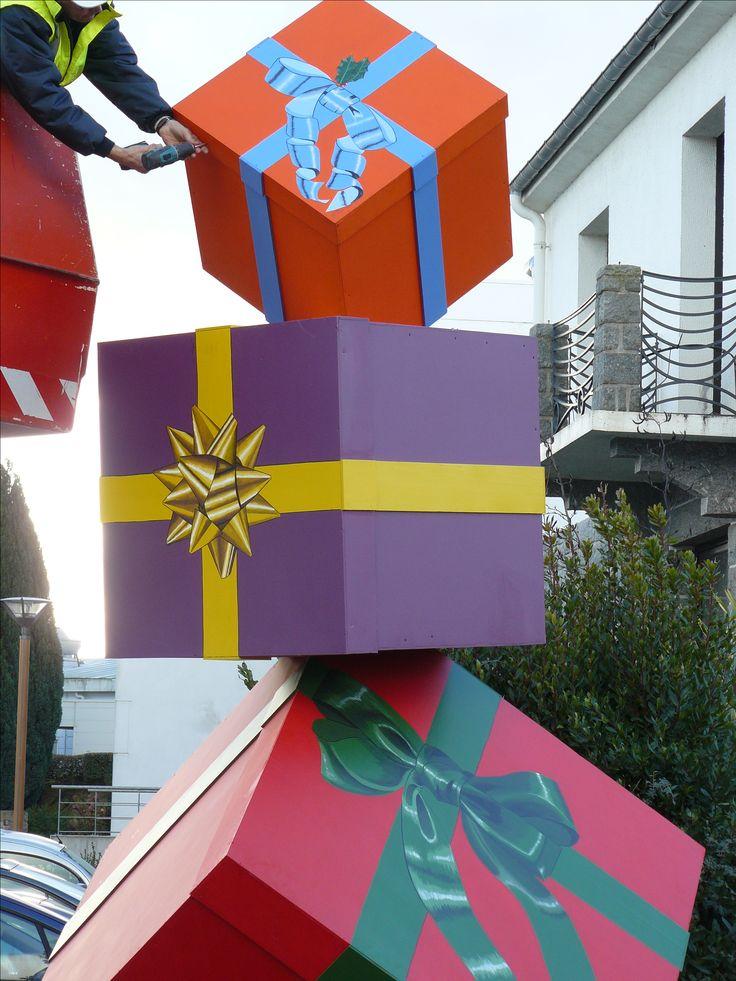 Arts dans la rue  Sculptures de 4,5 Mètres de haut, décembre 2015. De Olivier Defay