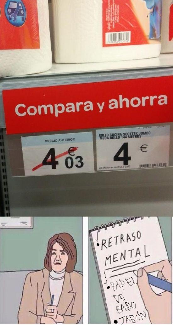 Ofertas así me matan...        Gracias a http://www.cuantocabron.com/   Si quieres leer la noticia completa visita: http://www.estoy-aburrido.com/ofertas-asi-me-matan/