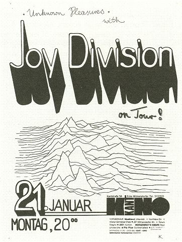 joy division music gig posters | Joy Division Concert Posters Kant Kino Berlin concert                                                                                                                                                                                 More