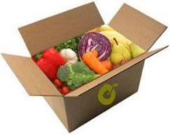 A paleo fruit and vegetable box
