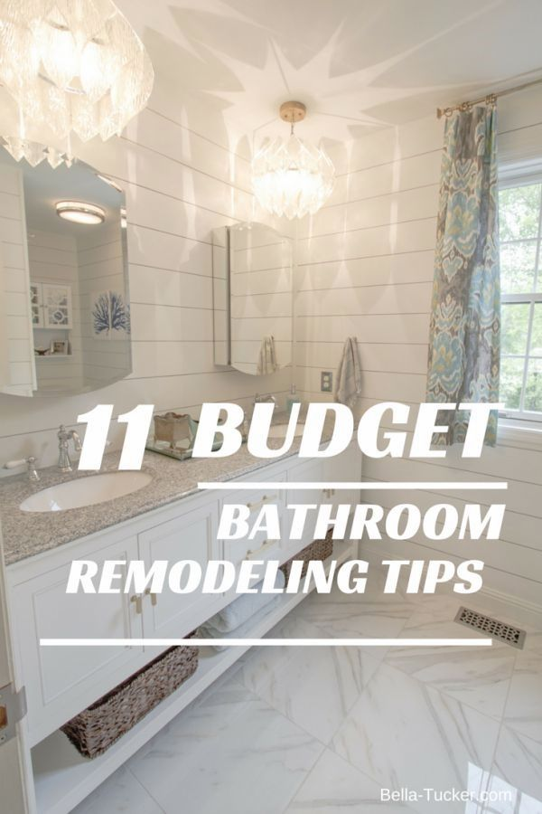 Bathroom Remodeling On A Budget With Images Budget Bathroom