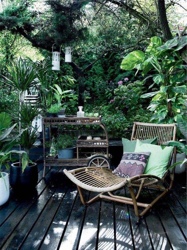 Jungle feber på terrassen - Boligliv