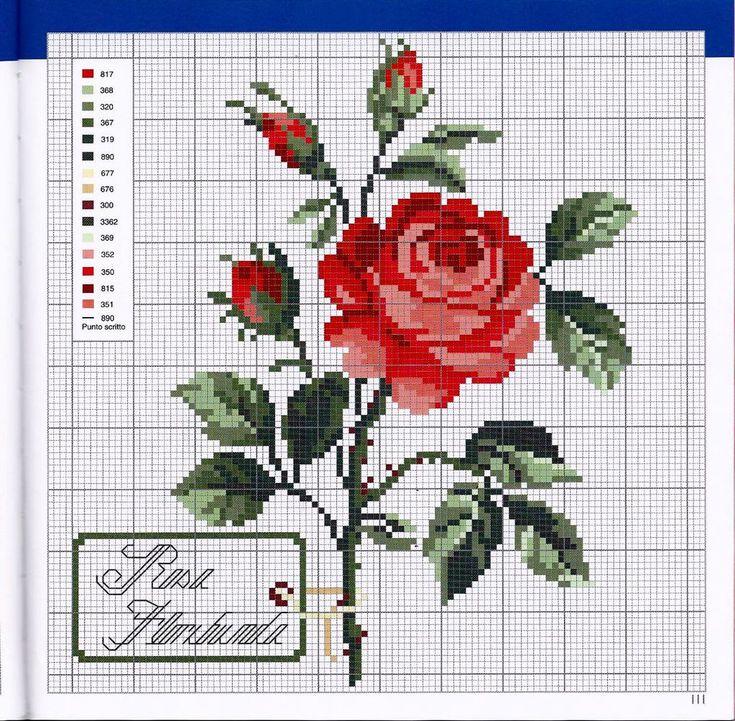 <3large red rose