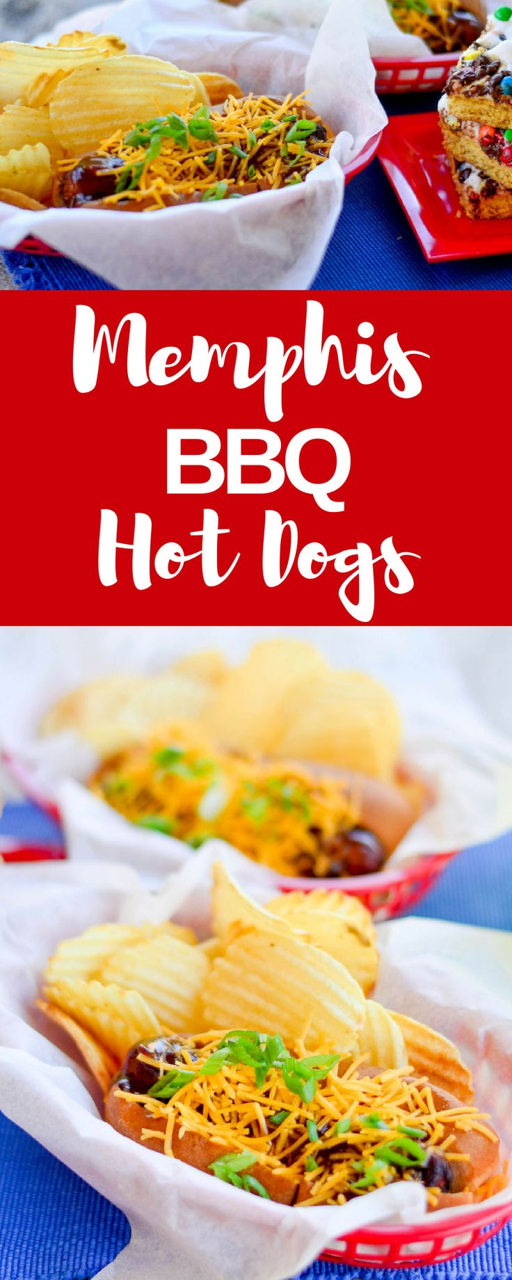 #ad Summer is almost over but you can still grill these Memphis Style Hot Dogs! Wrapped in bacon and slathered with BBQ sauce these are so good! Grabgowow.com has more delicious recipes! Walmart #grabgowow