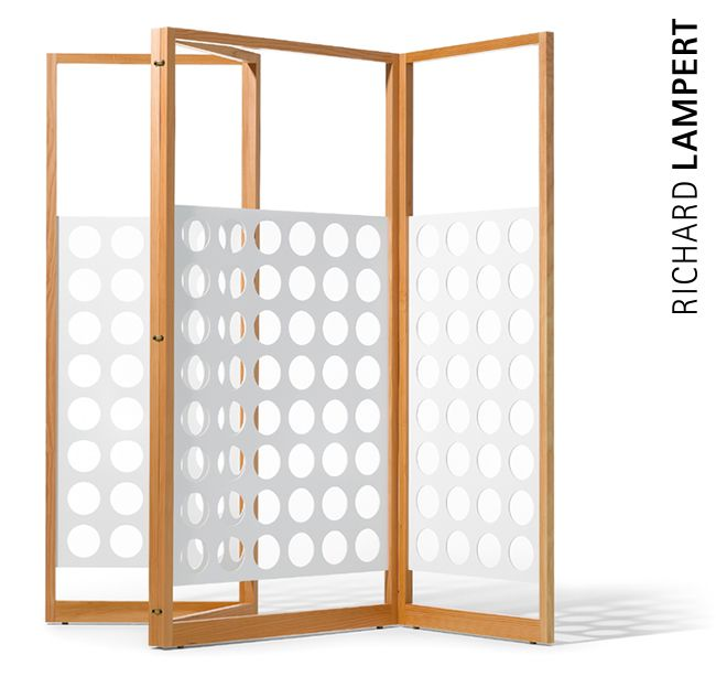 Screen and room divider – ›PARAVENT‹ folding screen by Egon Eiermann