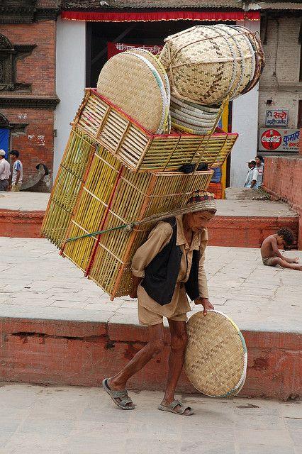 Porter Durbar Square, Kathmandu, Nepal