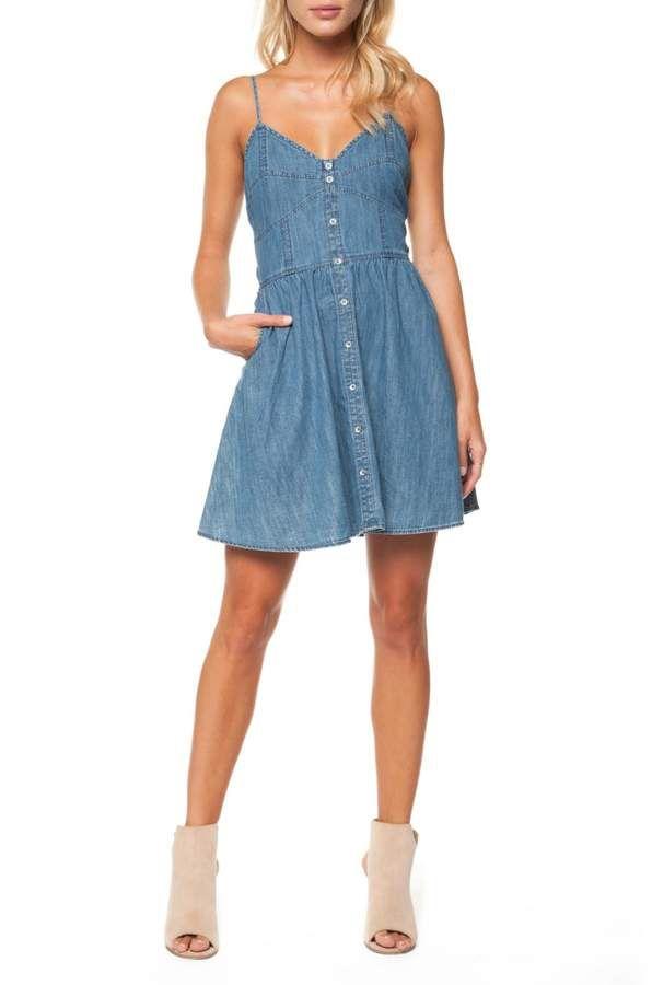fd8d1eccbe Dex Sweetheart Denim Dress