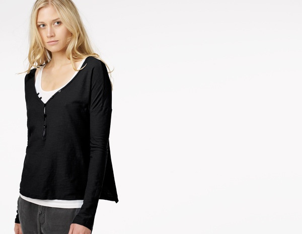 Button Front Boxy Henley: Fashion, Boxy Henley, Front Boxy, Buttons, Products