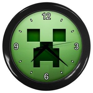 Minecraft Creeper Clock