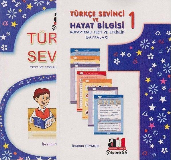 A1 Yayınları İlkokul 1.Sınıf Türkçe Sevinci