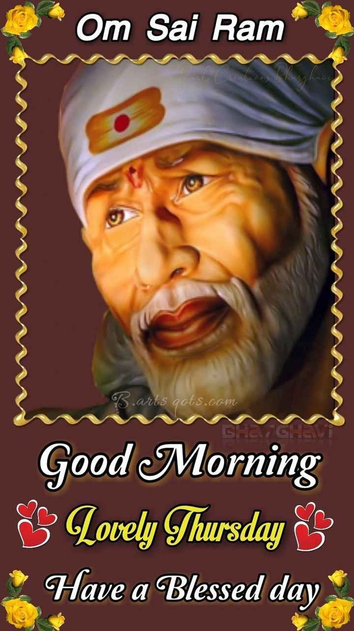 Images Of Sai Baba With Good Morning