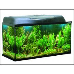 Aquael akvárium set Pearl 80 černé 112 l