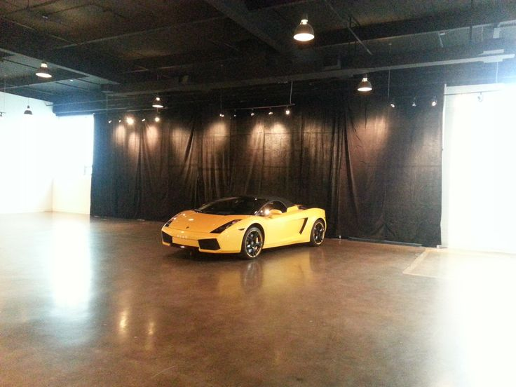 Luxury Car Photo Shoot at The Warehouse Event Venue!