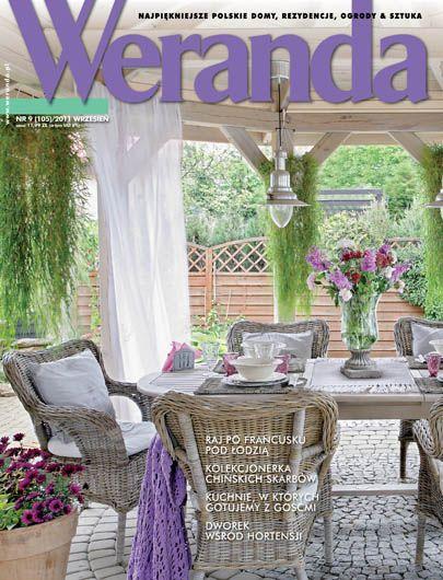 Okładka magazynu Weranda 9/2011 www.weranda.pl