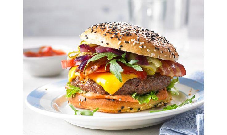 Top 50 Burger: Leckere Rezepte für großen Burgerspaß   Chefkoch.de
