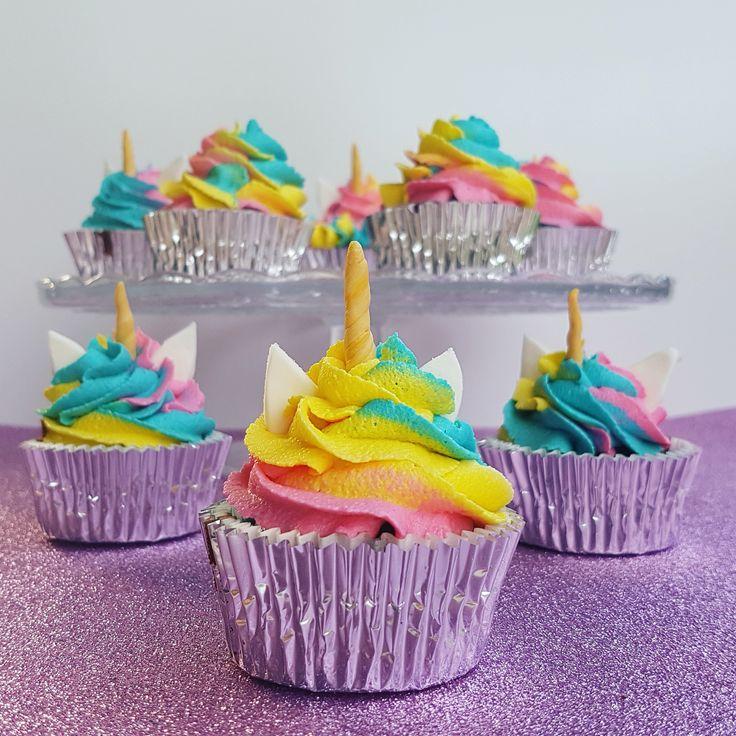 Cake, Unicorn, Unicorn Cupcake, cupcakes, mudcake, gumpaste, rainbow, buttercream, Baked by Julz, Unicorn Cake