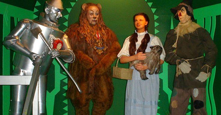 Ideas para disfraces del Mago de Oz para niños sin tener que coser