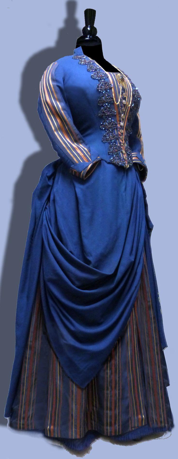 Blue Serge Dress