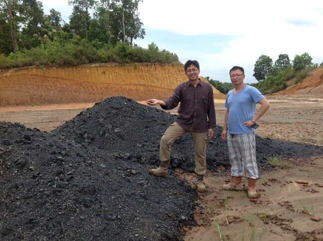 Trip to Indonesia:  Visited Balikpapan to see my friend's coal mining site.. where the money is waied to be exploted!