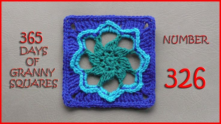 365 Days of Granny Squares Number 326