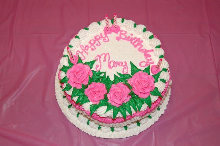 Happy Birthday Mary Cake