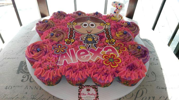 Pastel Cupcakes tinga distroller