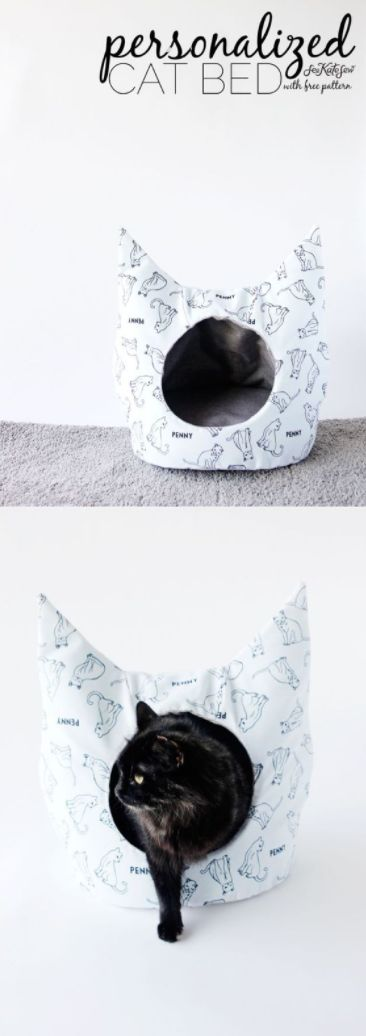 Give your feline friends their own oasis. This Cat Bed Sewing Pattern would make the perfect idea for your next craft project. Pick up a stylish fabric from Jo-Ann to match this homemade pet house to the aesthetic of your home.