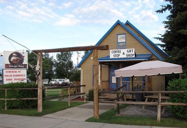 The Navajo Mug in Longview, Alberta, Canada - Coffee, conversation and home made pie.