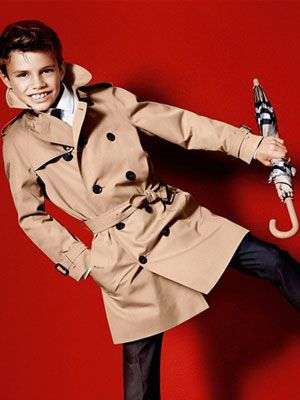 Is Romeo Beckham The Cheeky Secret To Selling Luxury Coats