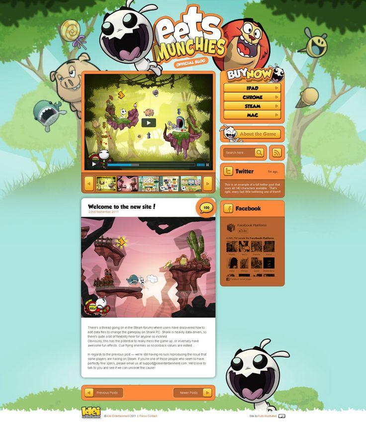 Unique Web Design, Eets Munchies @lelique #WebDesign #Design (http://www.pinterest.com/aldenchong/)