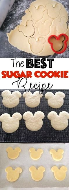 The BEST Sugar Cookie Recipe! Perfect homemade Cut-Out Cookies from scratch, every time. Simple and easy, perfect for decorating with frosting!